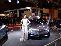 福岡モーターショー2007 Mazda HAKAZE コンパニオン.jpg